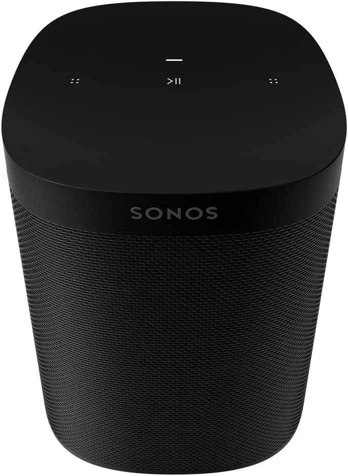 All-New Sonos One SL - The Powerful Microphone-Free Speaker for Music and More - Black