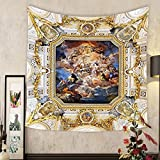 Grace Little Custom tapestry madrid spain august the fresco corrado giaquinto spain pays homage to religion and to