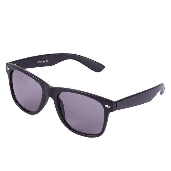 Plain negro gafas de Carey 50 del estilo gafas de sol Negro ...