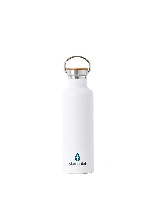 Amazon.com: Botella para agua Elemental de Acero Inoxidable ...