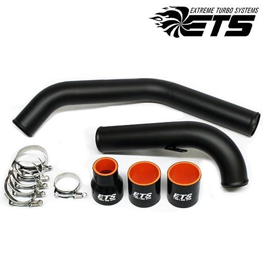 Amazon.com: ETS Black Upper Intercooler Piping Kit for 2008+ Mitsubishi Lancer Evolution X / 10: Automotive