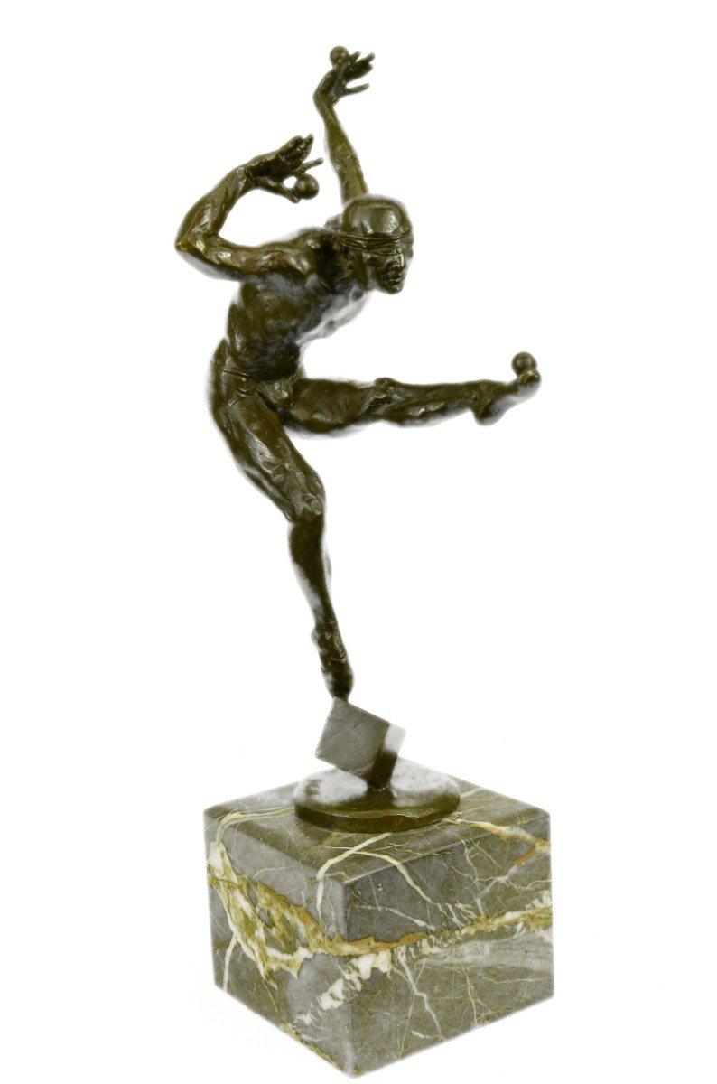 Buy HandmadeEuropean Bronze Sculpture Original Jean