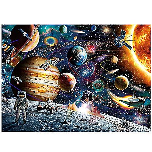 DZSF Space Traveler Grown-up Kids Jigsaw Paper Puzzle- 1000 Pieces - Size 7050cm,1pcs