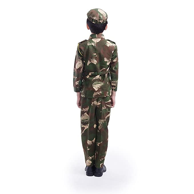 39394d9a09c Fancydresswale Army/Soldier Dress for Kids (3-4 Yrs)