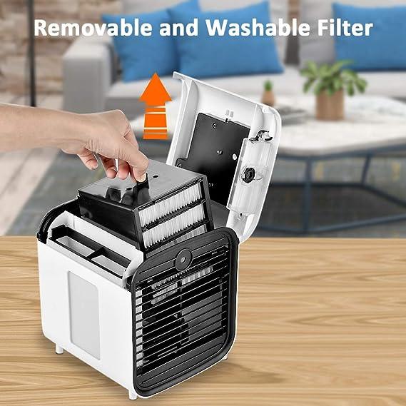 filtro de repuesto para mini enfriador de aire y mini dispositivos de aire acondicionado mini filtro de aire lavable Filtro de repuesto de filtro Hisome Air filtro Air Cooler