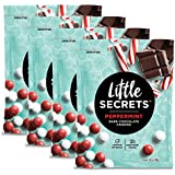Little Secrets - Gourmet Chocolate Candy - Peppermint Dark Chocolate {5 oz., 4 Count} - The World's Most Unbelievably Delicious Chocolate Candies