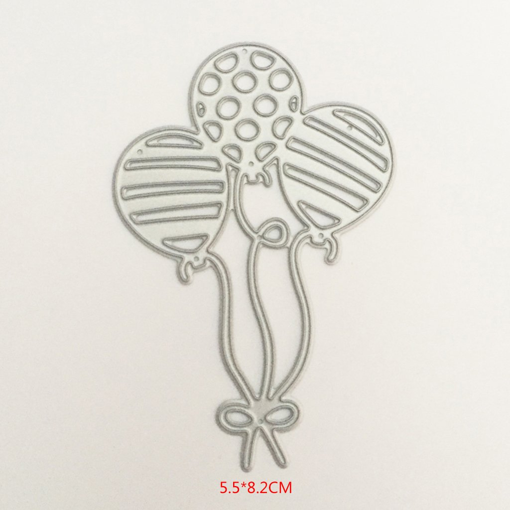 Yeahii Balloon Cutting Dies Stencil DIY Scrapbooking Embossing Album Paper Card Crafts by Yeahii (Image #9)