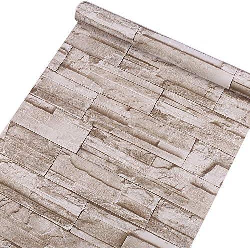 壁紙 レンガ シール 壁紙シール 45cm×10m 表面防水 はがせる ウォールステッカー デコレーション リメイクシート カッティングシート リフォームシール おしゃれ DIY ブリック gray87