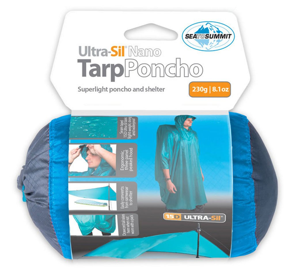 Sea to Summit Ultra SIL Nano Tarp Poncho - Wasserdichter Regenponcho