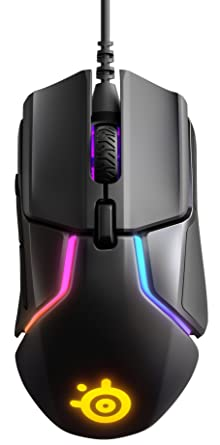 1b3354980b3 Steelseries Rival 600 Gaming Mouse, TrueMove3+ Dual Optical Sensor, 0.05  Lift-off Distance