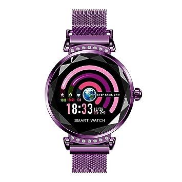 MINSINNY Reloj Inteligente 2019 Mujer Reloj Inteligente ...