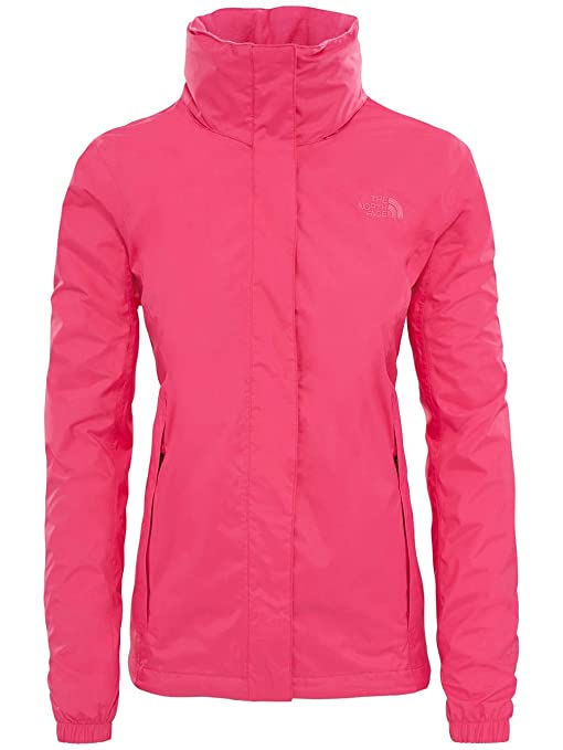 North Face W Resolve 2 Jacket - Chaqueta, Mujer, Rosa - (Petticoat Pink