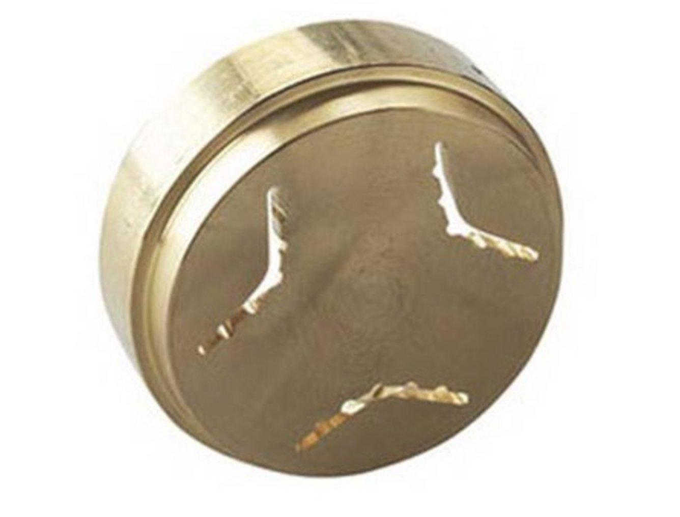 Trafila Conchigliette realizzata in Bronzo opzionale Torchio Pasta per Planetarie e Cooking Chef/Major/kMix Kenwood CAREservice