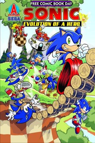 FCBD 2009 SONIC THE HEDGEHOG EVOLUTION OF A HERO (Sonic The Hedgehog Evolution Of A Hero)