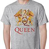 Queen Rock Music Band Crest Logo T-Shirt