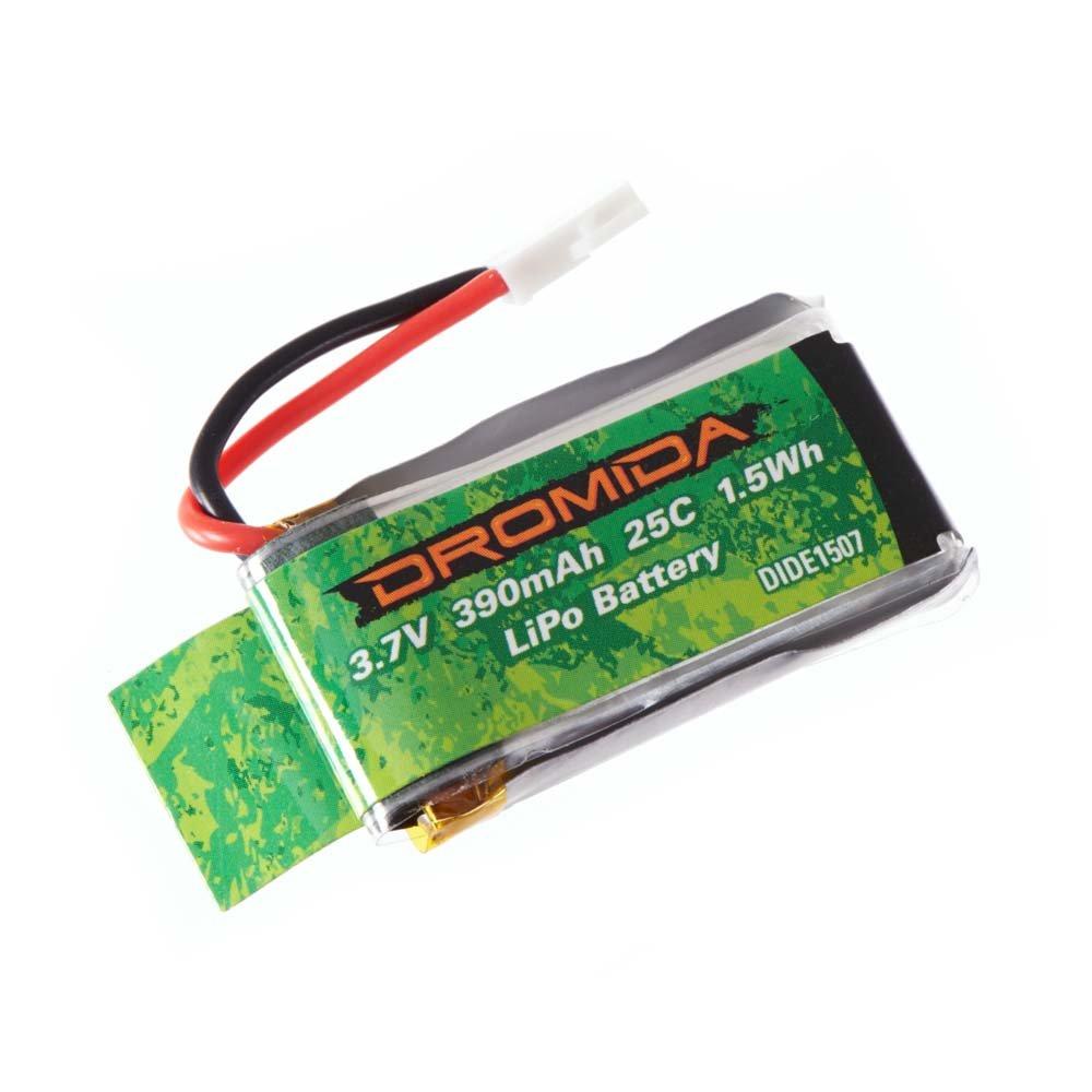 Dromida LiPo Drone Battery 1S 3.7V 390mAh for Kodo RC Quadcopter (model DIDE0005)