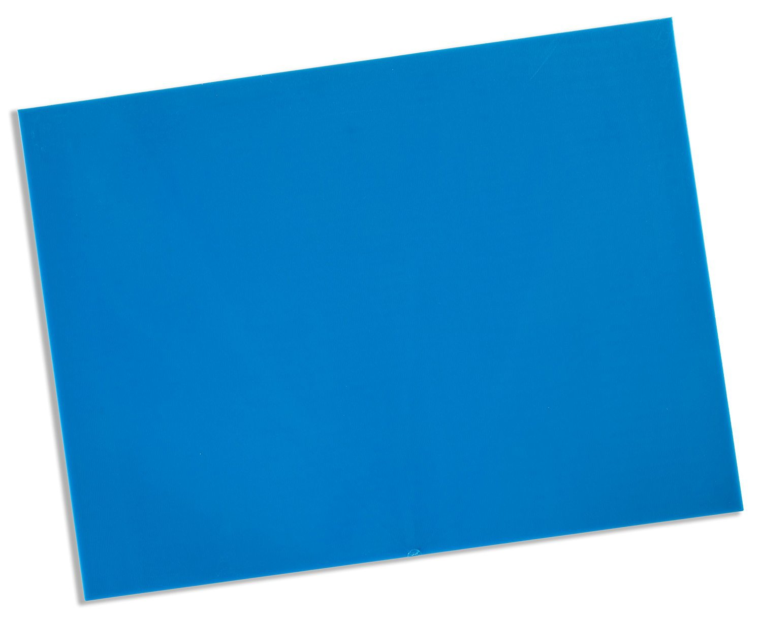 Rolyan Splinting Material Sheet, Aquaplast-T Watercolors, Electric Blue, 1/8'' x 18'' x 24'', Solid, Single Sheet by Cedarburg