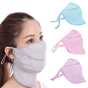 SZH Outdoor Mouth Covers,Adjustable Earloops Breathable Reusable Dust Bandanas for Adults Kids