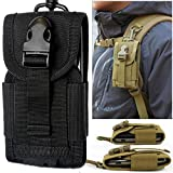 Chinatera Mens Molle Outdoor Hunt Multifunctional Accessories Bag Sundries Bags Key Cell Phone Waist Bag Pouch Cas