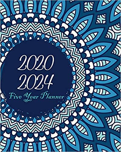 Amazon.com: 2020-2024 Five Year Planner: Bluesky Mandala ...