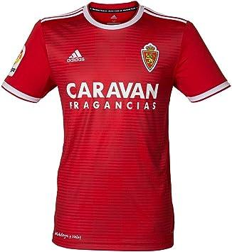 adidas Real Zaragoza Segunda Equipación 2018-2019, Camiseta, Red-White, Talla M: Amazon.es: Deportes y aire libre