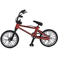 SeniorMar Mini tamaño Simulación Aleación Dedo Bicicleta Niños