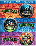 Teenage Mutant Ninja Turtles / Teenage Mutant Ninja Turtles II: The Secret of the Ooze / Teenage Mutant Ninja Turtles III: Turtles in Time (Triple Feature) [Blu-ray] by Warner Home Video