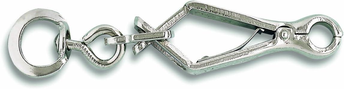 Chapuis 160//12N 20 Mousquetons pince acier nickel/é L 100 mm