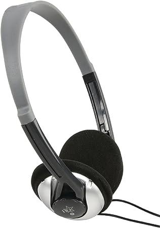 EUROSELL - Auriculares de diadema ligeros para televisor de 6 metros de cable largo de 6 m estéreo para la cabeza de TV PC HiFi, ligeros grillete: Amazon.es: Electrónica