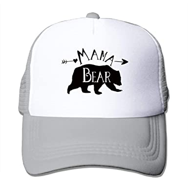 a285c54d91a Image Unavailable. Image not available for. Color  Mama Bear Unisex Mesh  Baseball Cap ...