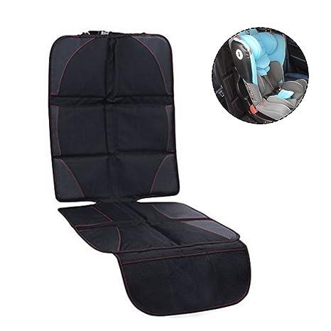 Starter Protector de asiento de carro | Saver Cover Mat para tapicería de cuero de asiento trasero | Almohadillas delanteras o traseras Niño Asiento ...