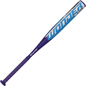 EASTON WONDERLITE -13 Fastpitch Softball Bat, 1 Piece Composite, Hyperlite Composite Barrel - Optimizes Sweet Sport For Maximum Performance, Hyperskin Grip, Approved All Fields