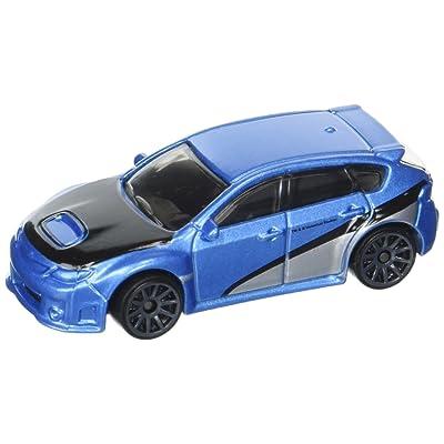 HOT WHEELS FAST & FURIOUS 7 BLUE SUBARU WRX STI 8/8: Toys & Games