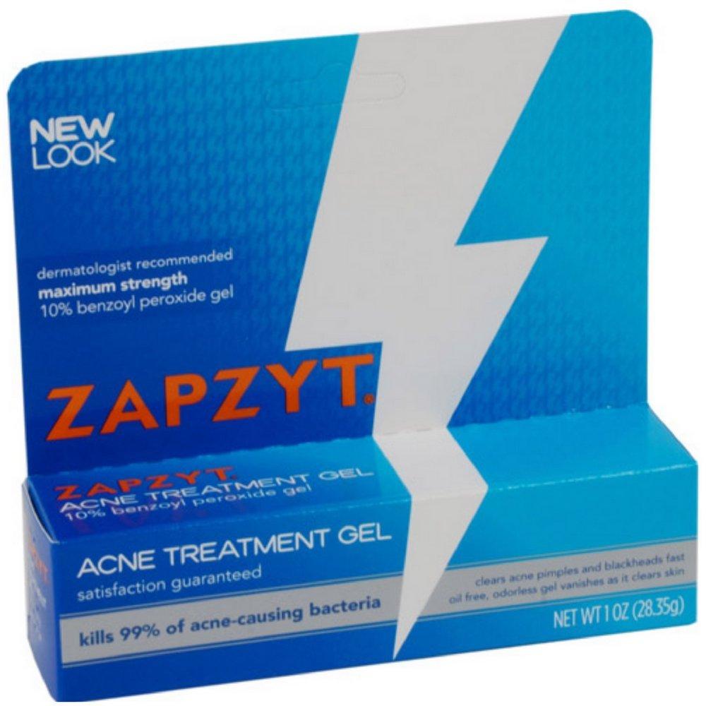 Amazon Com Zapzyt Maximum Strength 10 Benzoyl Peroxide Acne Treatment Gel 1 Ounce Skin Care Products Beauty