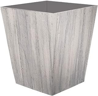 product image for Suncast 16 Inch Farmington Decorative Rustic Wood Finish Garden Planter, White