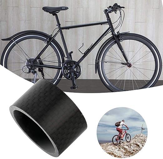 bicicletas de carretera Kits de v/ástago espaciador 3//5//10//15//20 mm Auriculares de fibra de carbono Espaciador Espaciadores de v/ástago de bicicleta de monta/ña para la mayor/ía de las bicicletas