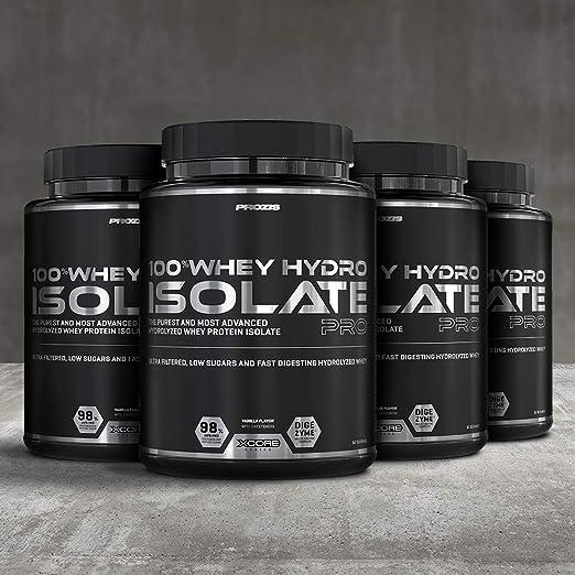 Xcore Nutrition 100% Whey Hydro Isolate Pro SS, Vainilla - 2000 gr