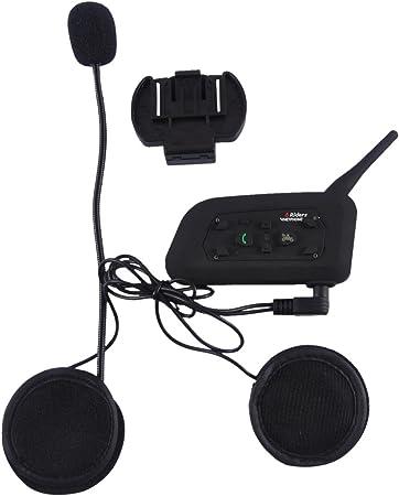 V6 1200m Bluetooth Intercom Motorrad Helm Headset Elektronik
