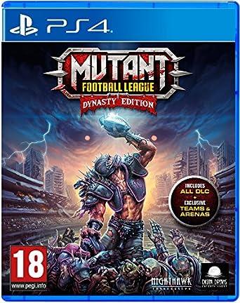 Mutant Football League Dynasty Edition Ps4 Amazon Co Uk Pc
