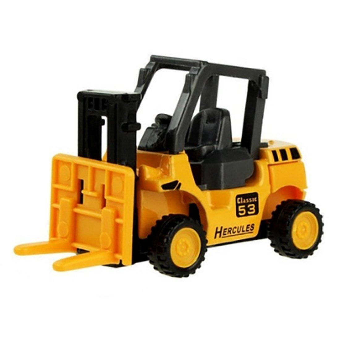 8 Pack Lingxuinfo Mini Machine Construction Truck Toy Cars Vehicle Truck Cars Toys Set