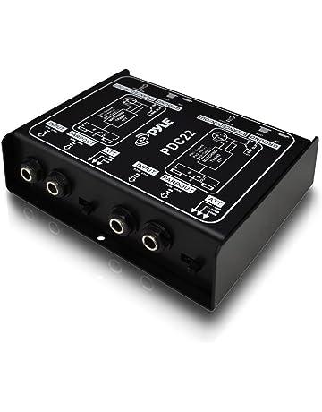 Cajas DI para sistemas de escenario y megafonía | Amazon.es
