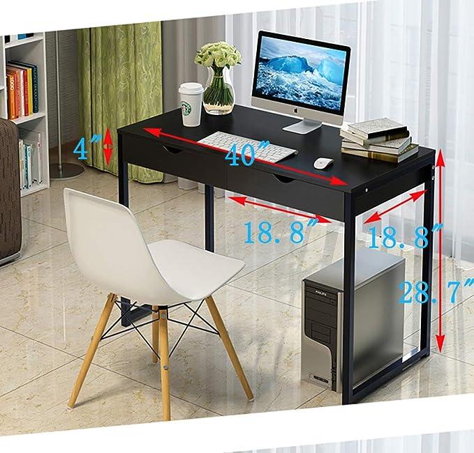 Coumputer oficina escritorio Con gavetas,Mesa de ordenador ...
