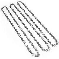 Zaagkettingen Semi Beitel Chains 3 / 8inch Pitch 0.5inch Gauge 57 Links Chainsaw Chains 3 PCS, Power Tool Accessoires