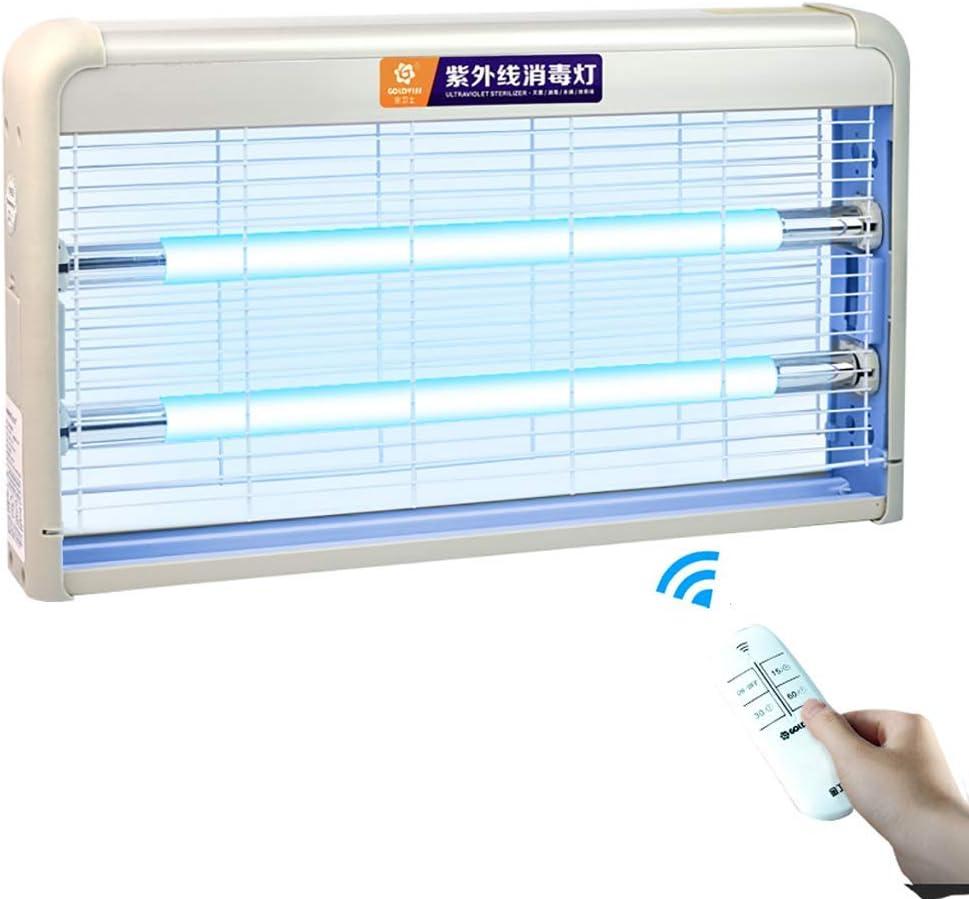 standard Lampe de d/ésinfection UV 30W Commande /à distance avec minuterie Le st/érilisateur mobile commode pour h/ôtel-h/ôtel nettoie lair Lozone et le dissolvant de tuer gratuit Moule Grippe.,Ozone