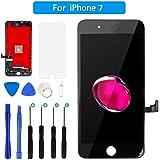 FLYLINKTECH Écran iPhone 7 De Remplacement Écran Tactile LCD 3D Touch Écran D'affichage avec Kit D'outils Complet De Réparation 4.7 Pouces (Écran iPhone 7, Noir)