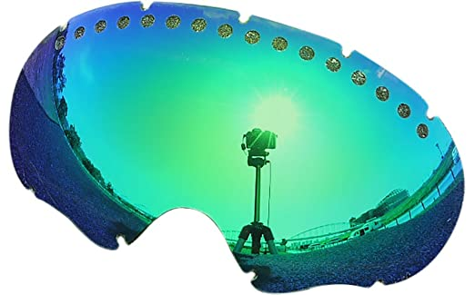 amazoncom zero replacement lenses for oakley a frame snow goggle blue mirror sports outdoors