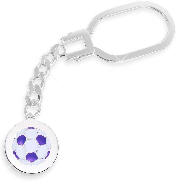 Fussball Schlüsselanhänger echt Sterling Silber Durchmesser