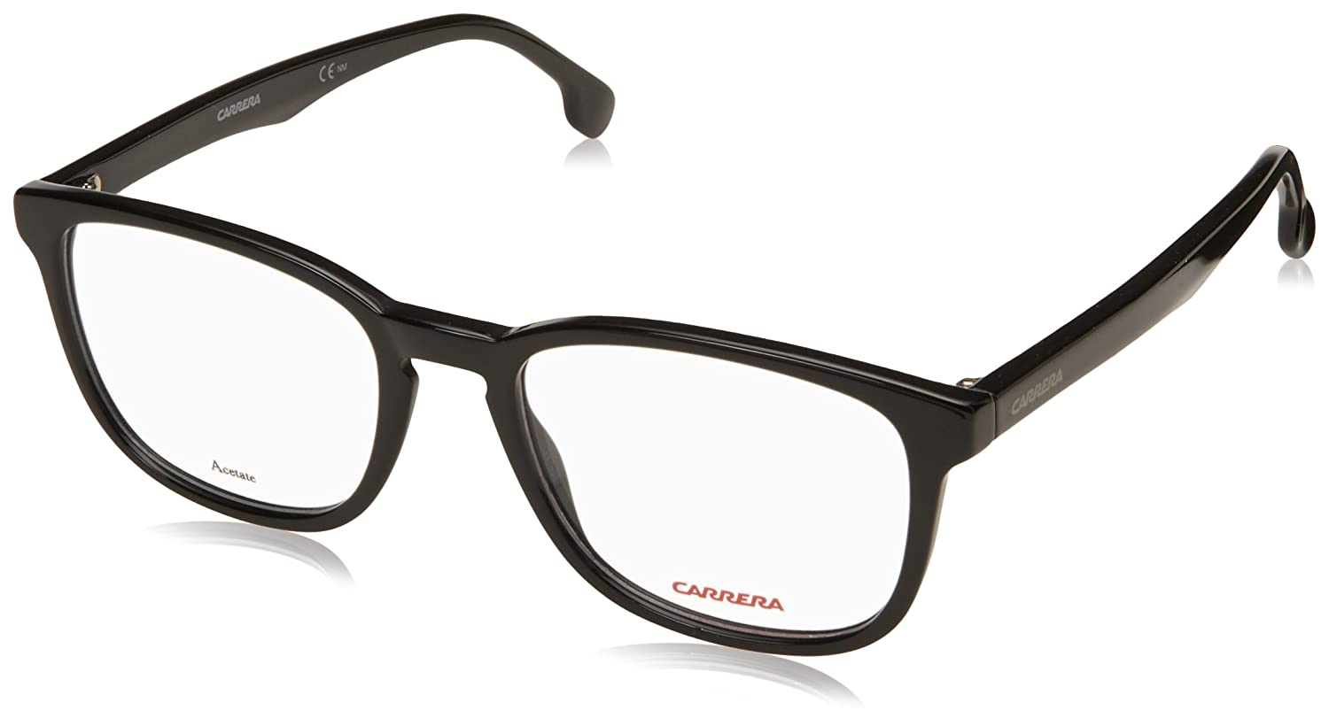 11cf1bbad946 Carrera 148/V 807 5219 Full Rim Oval Spectacle Frame (Black): Amazon.in:  Clothing & Accessories