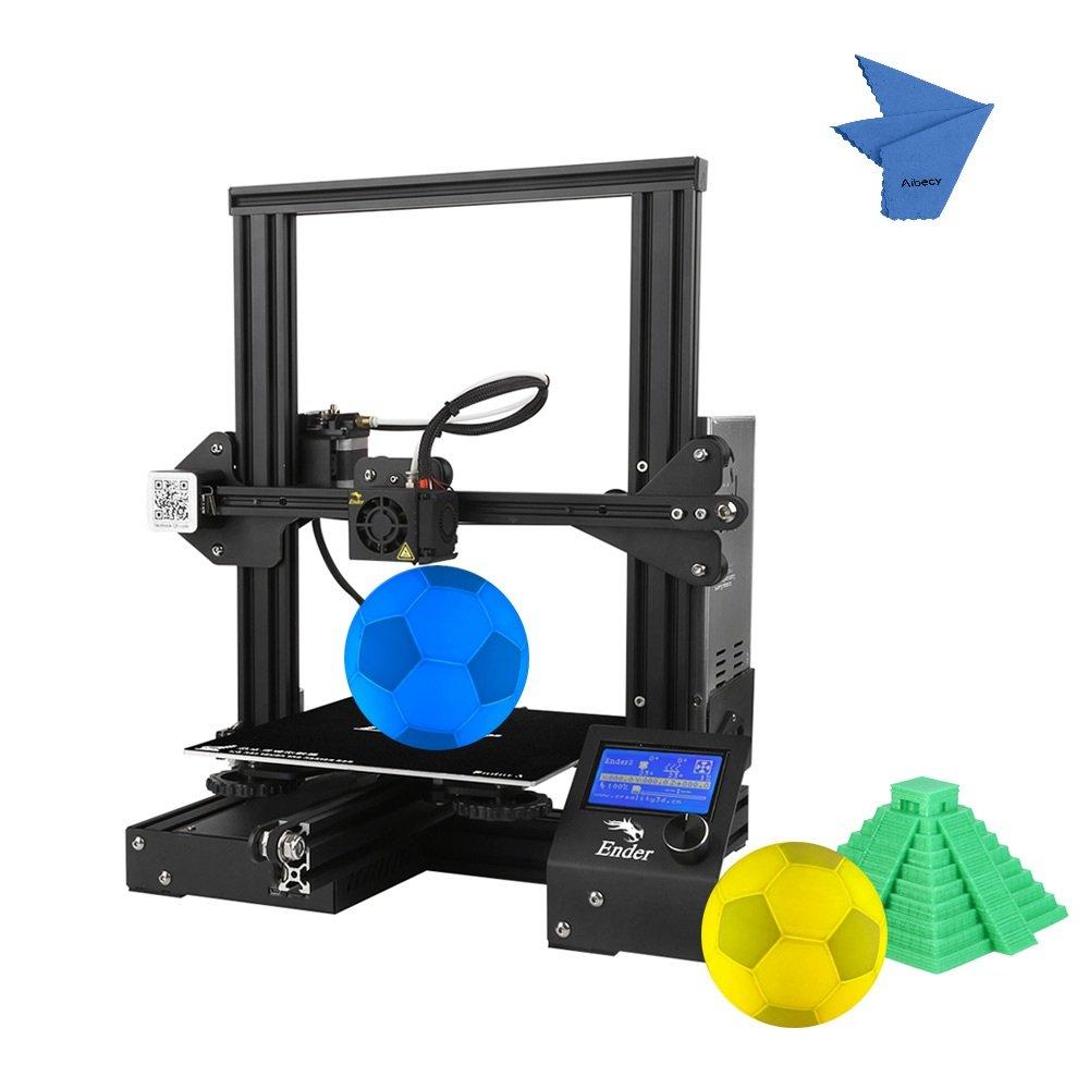 Creality 3D Ender-3 3D Drucker DIY Einfach zu montieren 220 * 220 * 250mm Druckgrö ß e mit Lebenslauf Drucken Unterstü tzung PLA, ABS, TPU