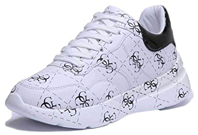 SCARPE DONNA SPORTS Sneakers Running Basket Eco Pelle